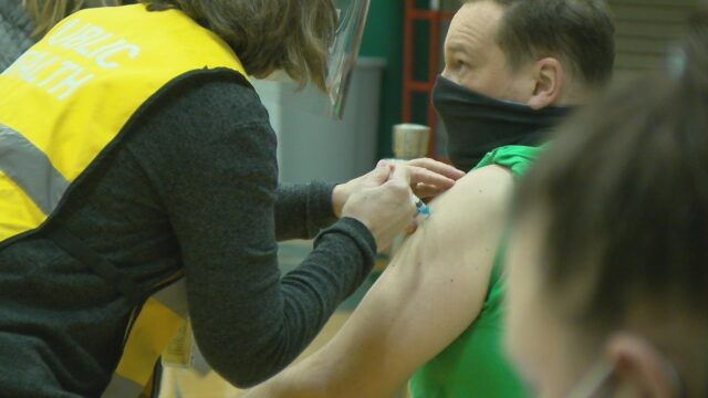 Race Between Vaccinations, New COVID-19 Cases Continue