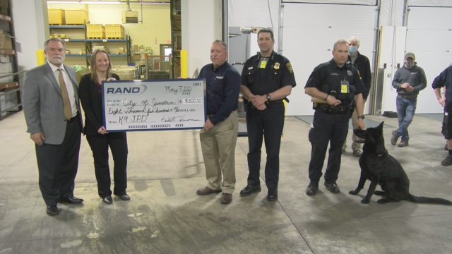 Donation Brings Police One Step Closer To Purchasing New Explosive Detection K-9
