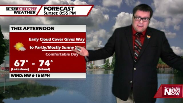 Cooler Air Surges In For Wednesday, Stays Dry Through Late Week