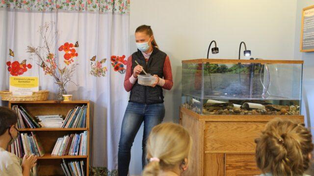 Hellbending: Audubon Nature Center Shows Off Latest Animal Additions