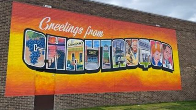 Chautauqua Mall Works With Local Artist To Create New Mural