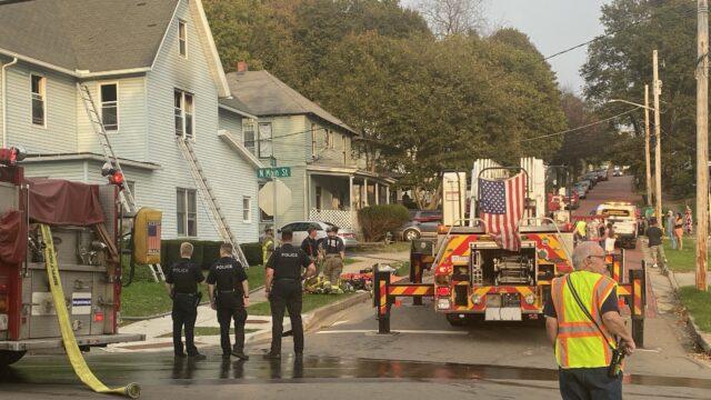 One Hurt In Jamestown House Fire